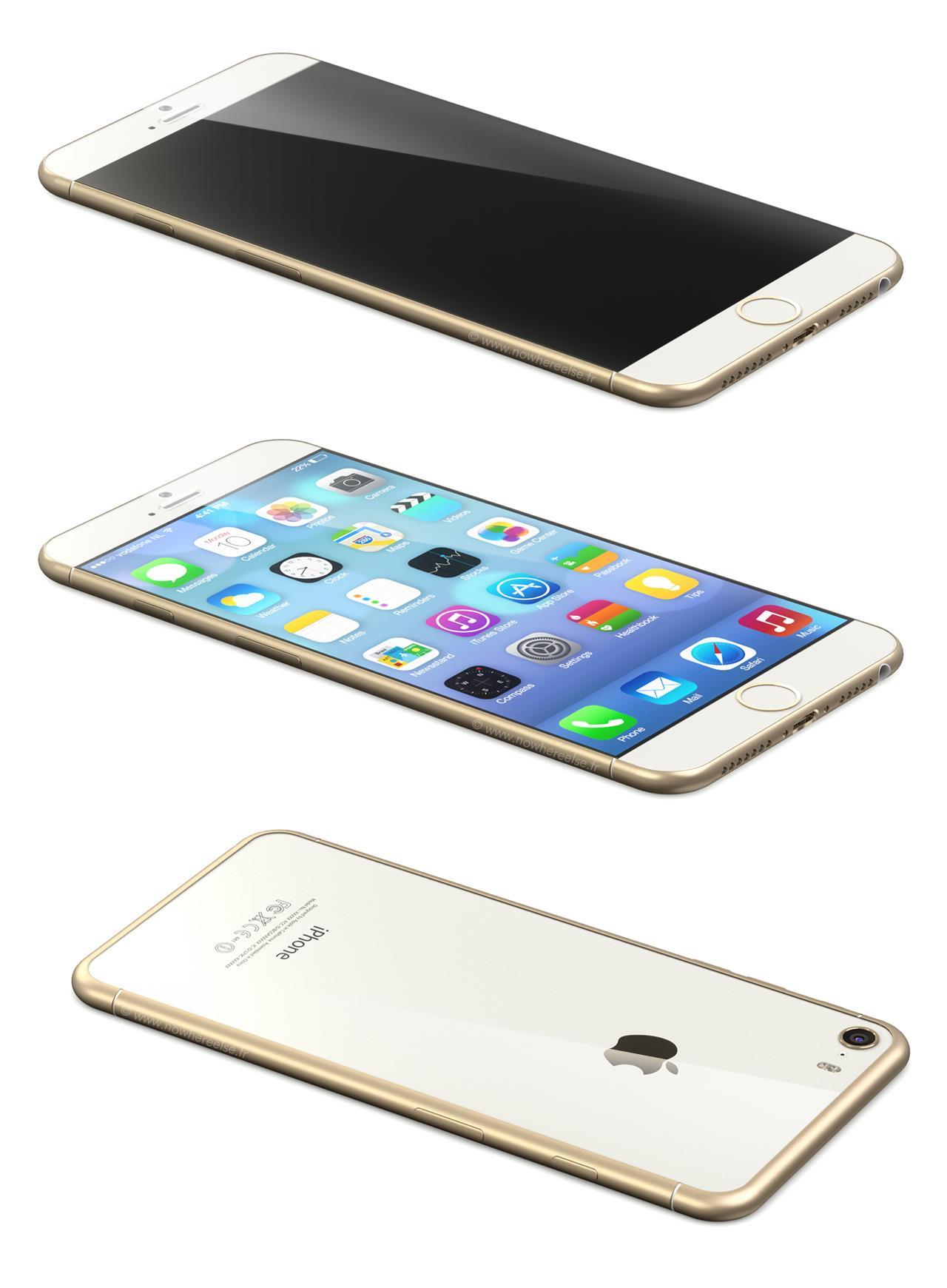 concept di iPhone 6 bianco