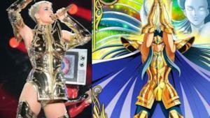 Katy Perry paragonata a uno dei Cavalieri d'oro