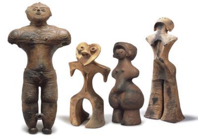 Le strane sculture Dogu