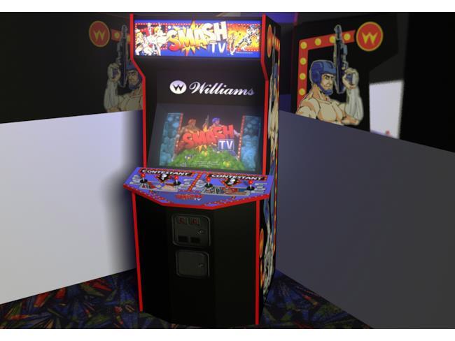 Il cabinet originale di Smash TV