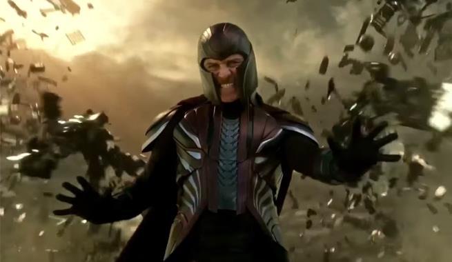 Fassbender interpreta Magneto
