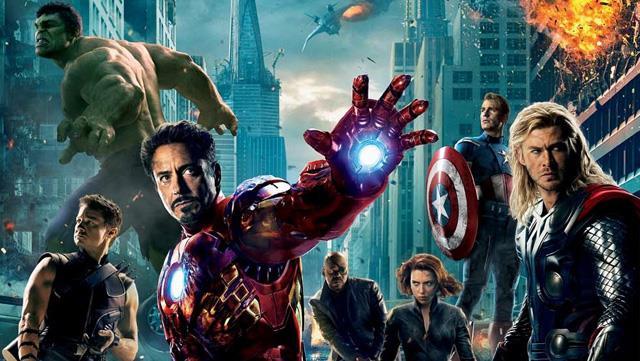 Gli Avengers al completo