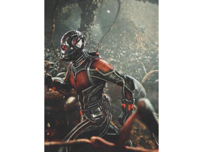 Ant-Man guida il suo esercito di formiche