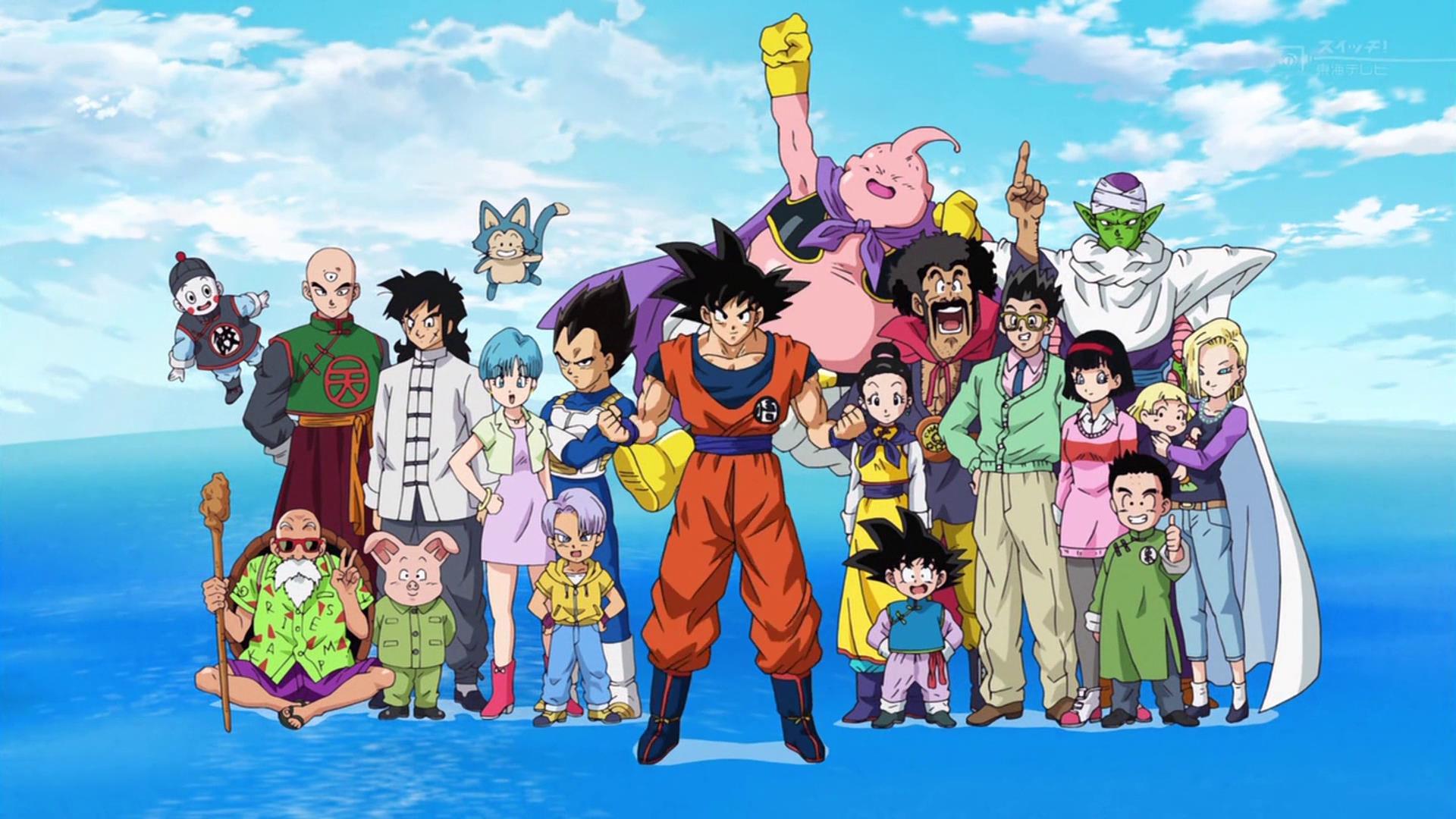 Alcuni personaggi di Dragon Ball
