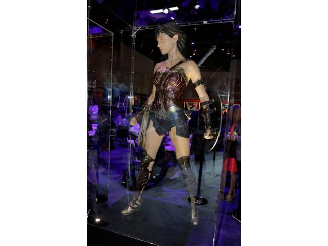 Il costume di Wonder Woman in Batman v Superman