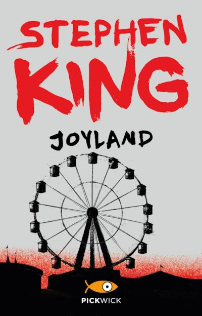 Joyland, la copertina del libro di Stephen King