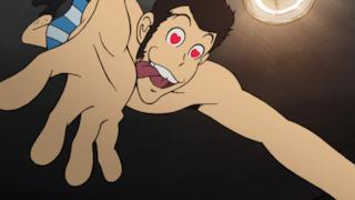 Lupin scatta con gli occhi a cuore