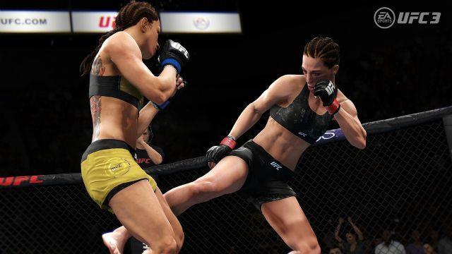 Un altro frame della beta di UFC 3.