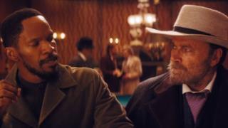 Una scena di Django Unchained