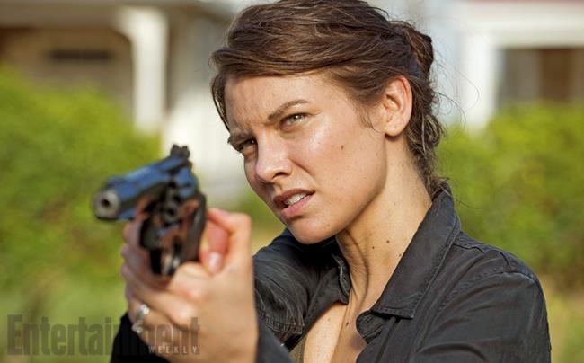 Maggie Green nella sesta stagione di The Walking Dead