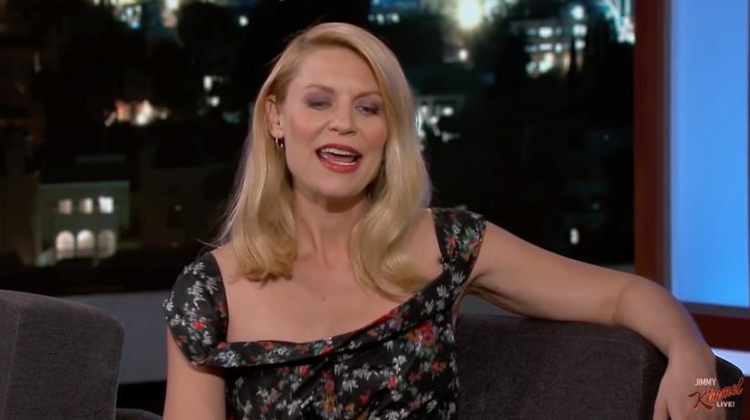 Claire Danes ospite al Jimmy Kimmel Live