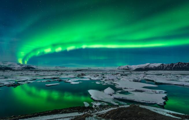 l'Aurora Boreale in Islanda