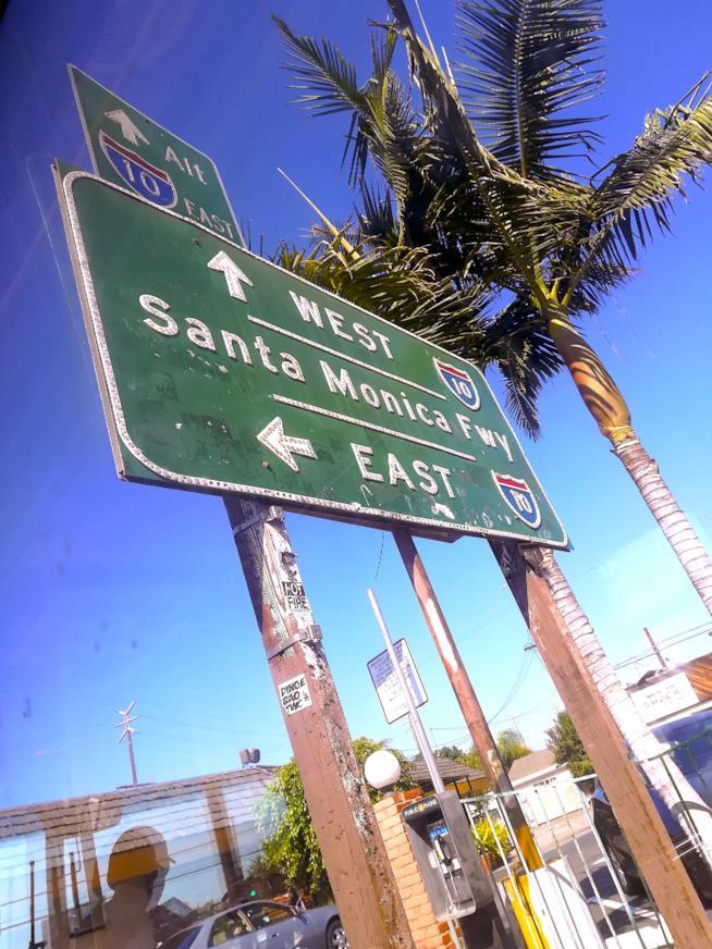 Segnale per Santa Monica