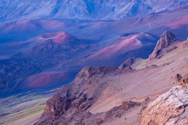 Il vulcano Haleakala