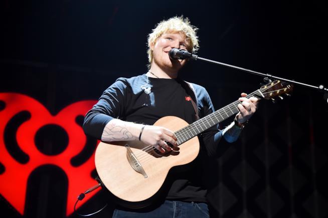 Ed Sheeran in concerto