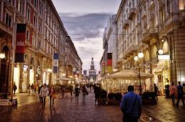Milano di sera