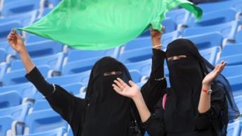 In Arabia Saudita le donne finalmente possono accedere agli stadi