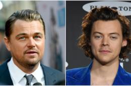 Leonardo DiCaprio e Harry Styles