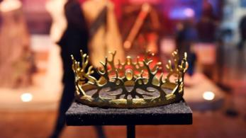 La corona di Joffrey Baratheon alla Game of Thrones The Exhibition di Parigi