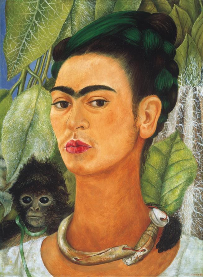 Autoritratto con scimmia