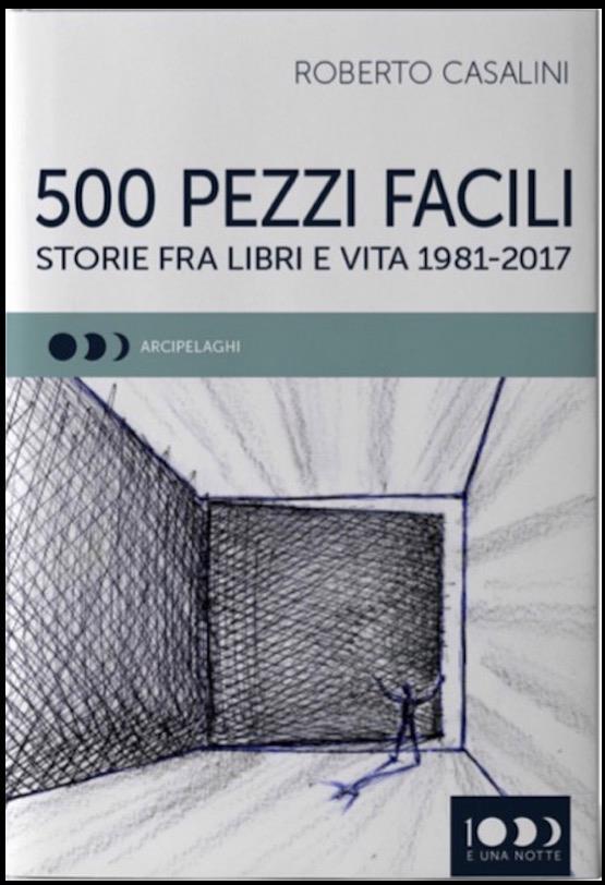 Copertina di 500 pezzi facili (Storie tra libri e vita)