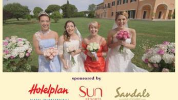 Marina, Sabrina, Ilaria e Lucrezia a Quattro Matrimoni in Italia