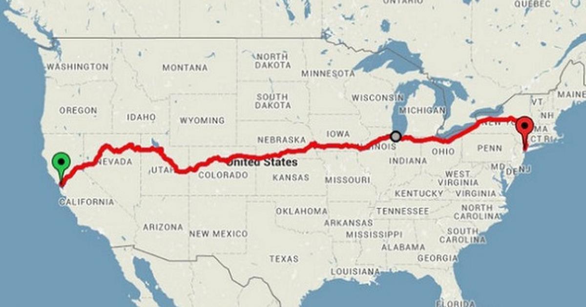 Girare gli USA in treno con soli 200 dollari: il viaggio imperdibile