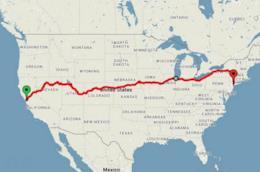 C'è un treno che permette di attraversare l'America da San Francisco a Chicago con meno di 200 dolla