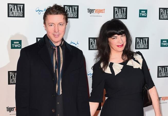 Aidan Gillen e la compagna Camille O'Sullivan