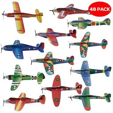 48 aerei di carta