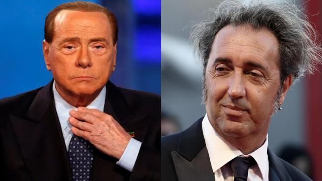 Silvio Berlusconi e Paolo Sorrentino