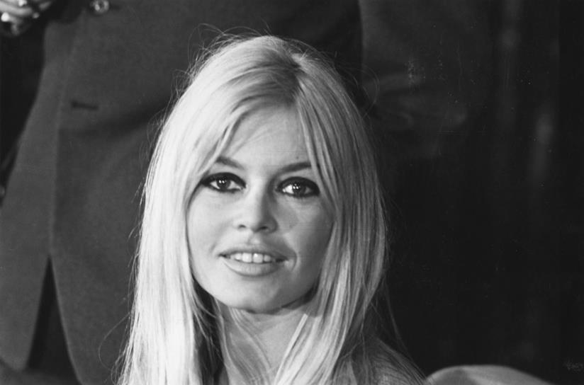 L'attrice Brigitte Bardot