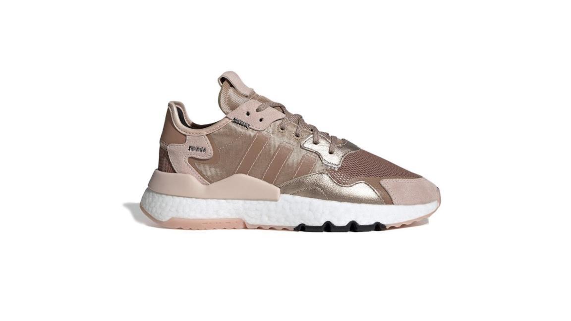 Adidas Nite Jogger in oro rosa