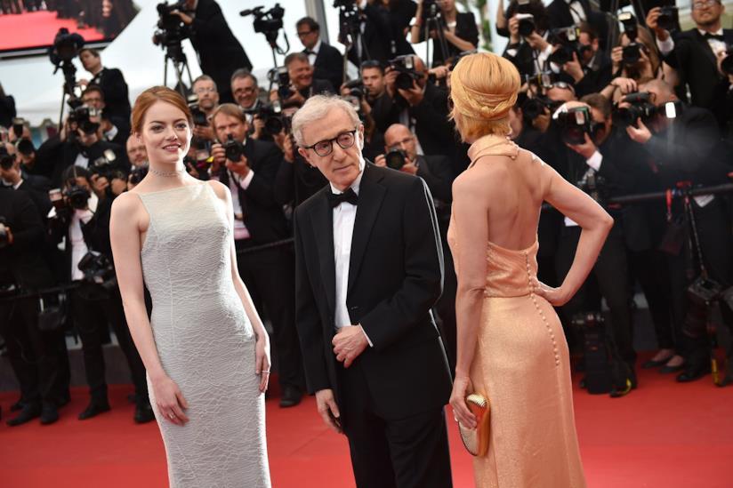 Woody Allen sul red carpet