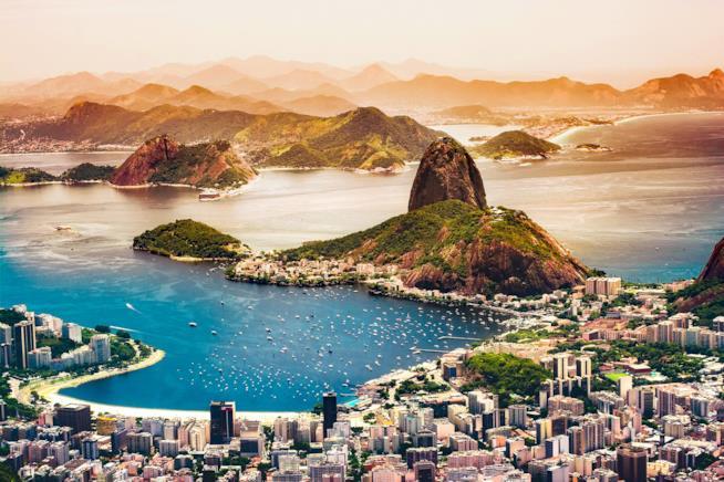 La spettacolare Rio