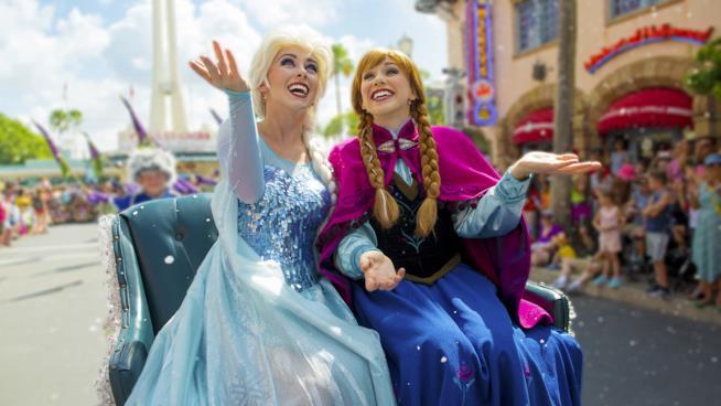 Elsa e Anna Frozen