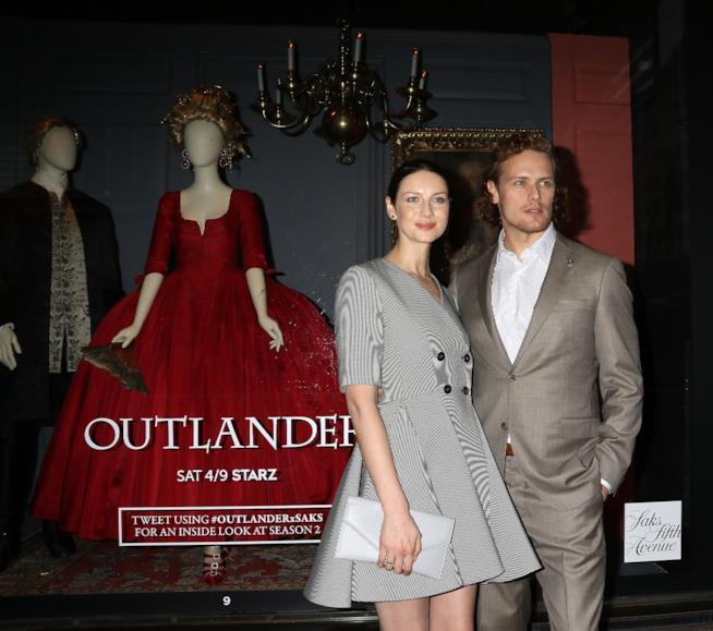 I protagonisti di Outlander a un evento dedicato alla serie