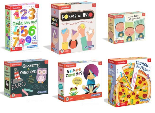 Giochi educativi per bambini di tutte le età