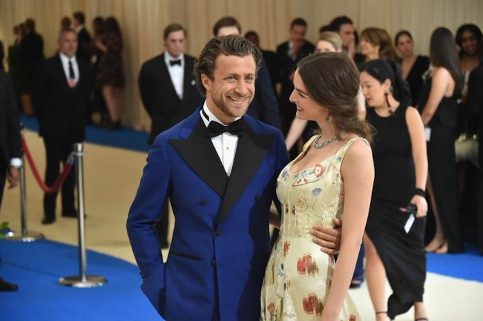 Francesco Carrozzini insieme alla moglie Bee Shaffer