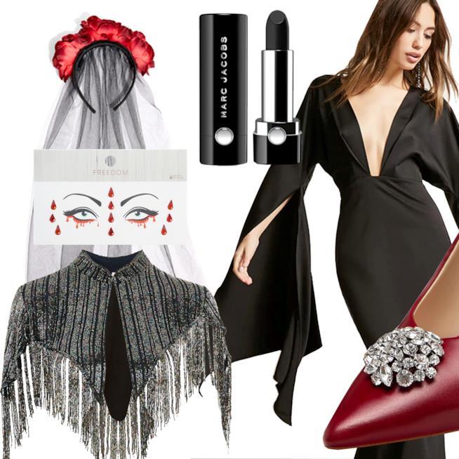 Idee costume di Halloween da sposa cadavere 93d82415484a