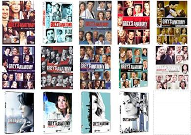 Cofanetti DVD di Grey's Anatomy - Stagioni 1-14