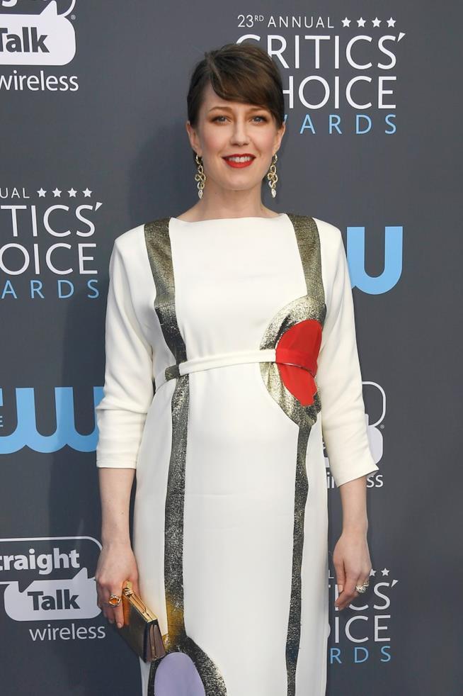 L'attrice Carrie Coon ai Critics' Choice Awards 2018