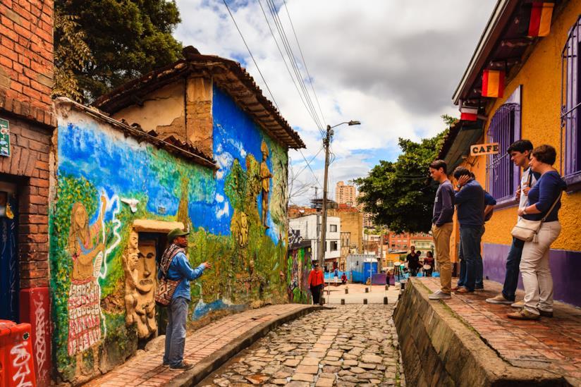 A spasso per Bogotà