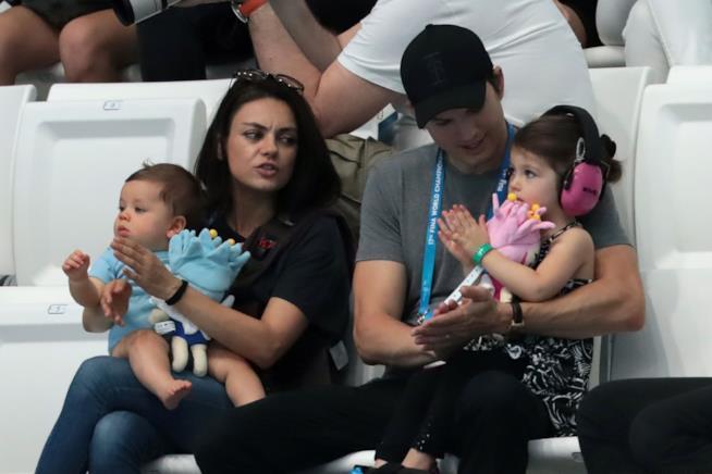 La famiglia di Mila Kunis e Ashton Kutcher