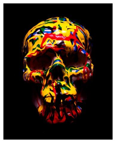 Guccione skulls - Jackson  Pollock