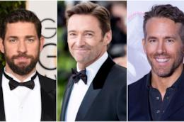 John Krasinski, Hugh Jackman e Ryan Reynolds