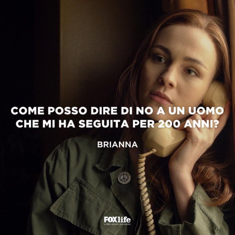 Brianna al telefono