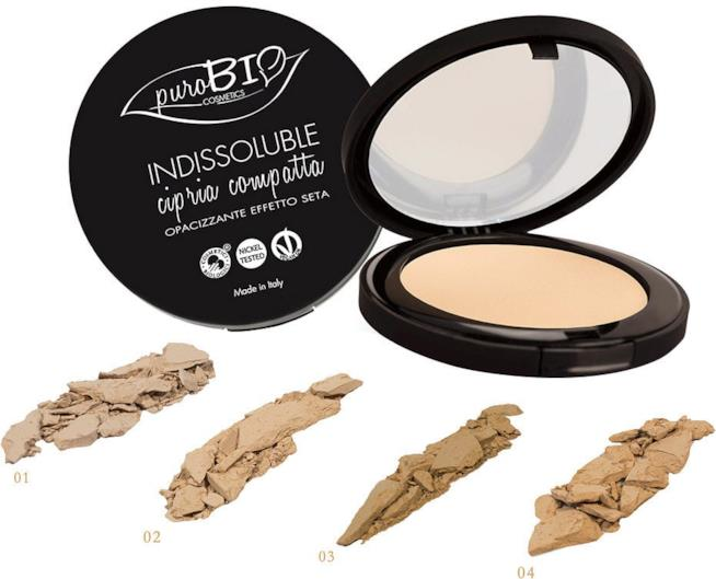 Pure Bio Compact Foundation fondotinta compatto