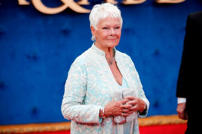 L'attrice Judi Dench