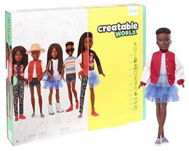 Mattel-GGG55 Creatable World Playset, Multicolore, GGG55